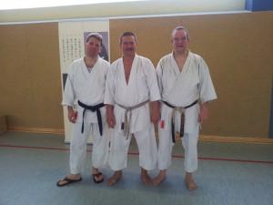 Gunnar und Burkhard zusammen mit Lothar (Mitte)