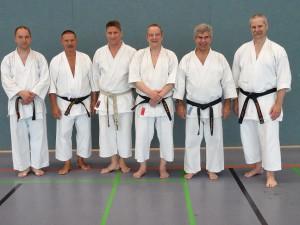 von links: Martin Knopf, Lothar J.Ratschke, Dirk Ebersbach, Burkhard Drinkewitz, Fritz Oblinger,Gerhard Kerscher