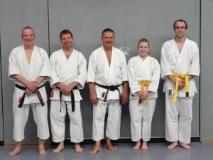 Burkhard, Gunnar, Lothar, Philine und Marc.